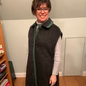 Jackets & Blazers - A wool cape that I altered to wear sleeveless